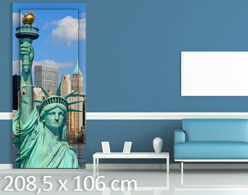 Produktfoto TürTapete New York Skyline