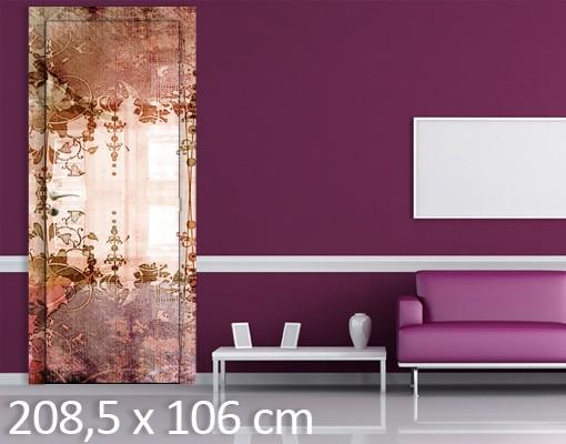 Produktfoto Fototapete Blumen - Old Grunge - Tapete selbstklebend