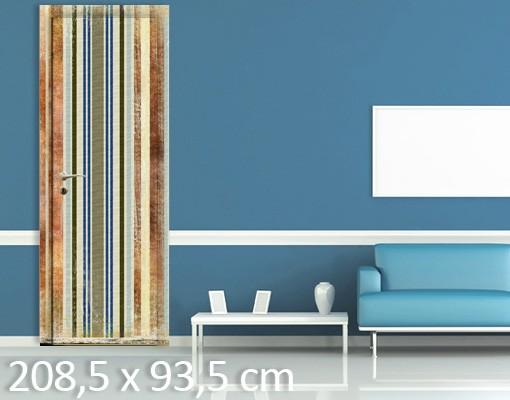 Produktfoto Tür Streifentapete selbstklebend -  Streaky II