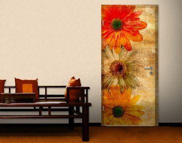 Produktfoto Fototapete Blumen - No.RY6 Blütenregen - Tapete selbstklebend