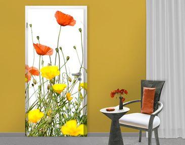 Produktfoto Fototapete Blumen - No.EK236 Spring Background - Tapete selbstklebend