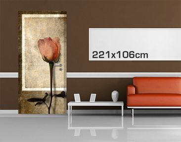 Product picture Door Photo Wall Mural Inner Rose