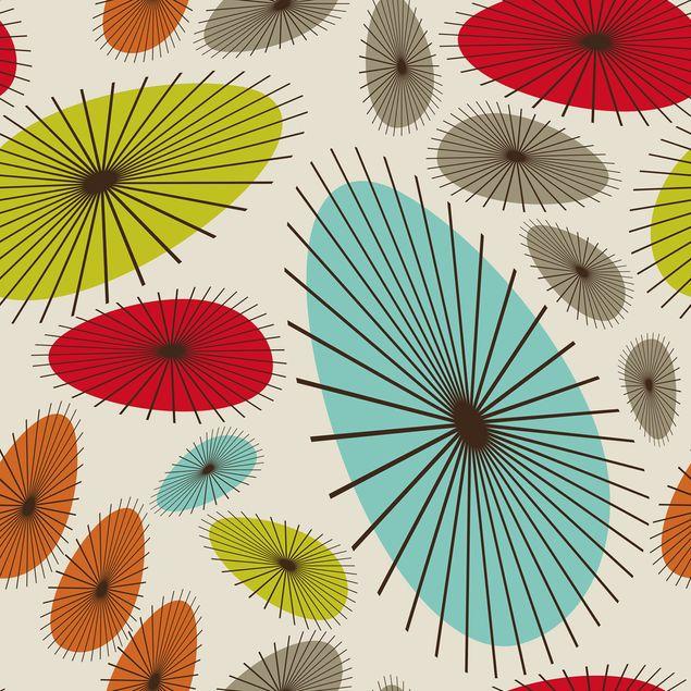 Immagine del prodotto Carta Adesiva per Mobili - Abstract retro floral pattern