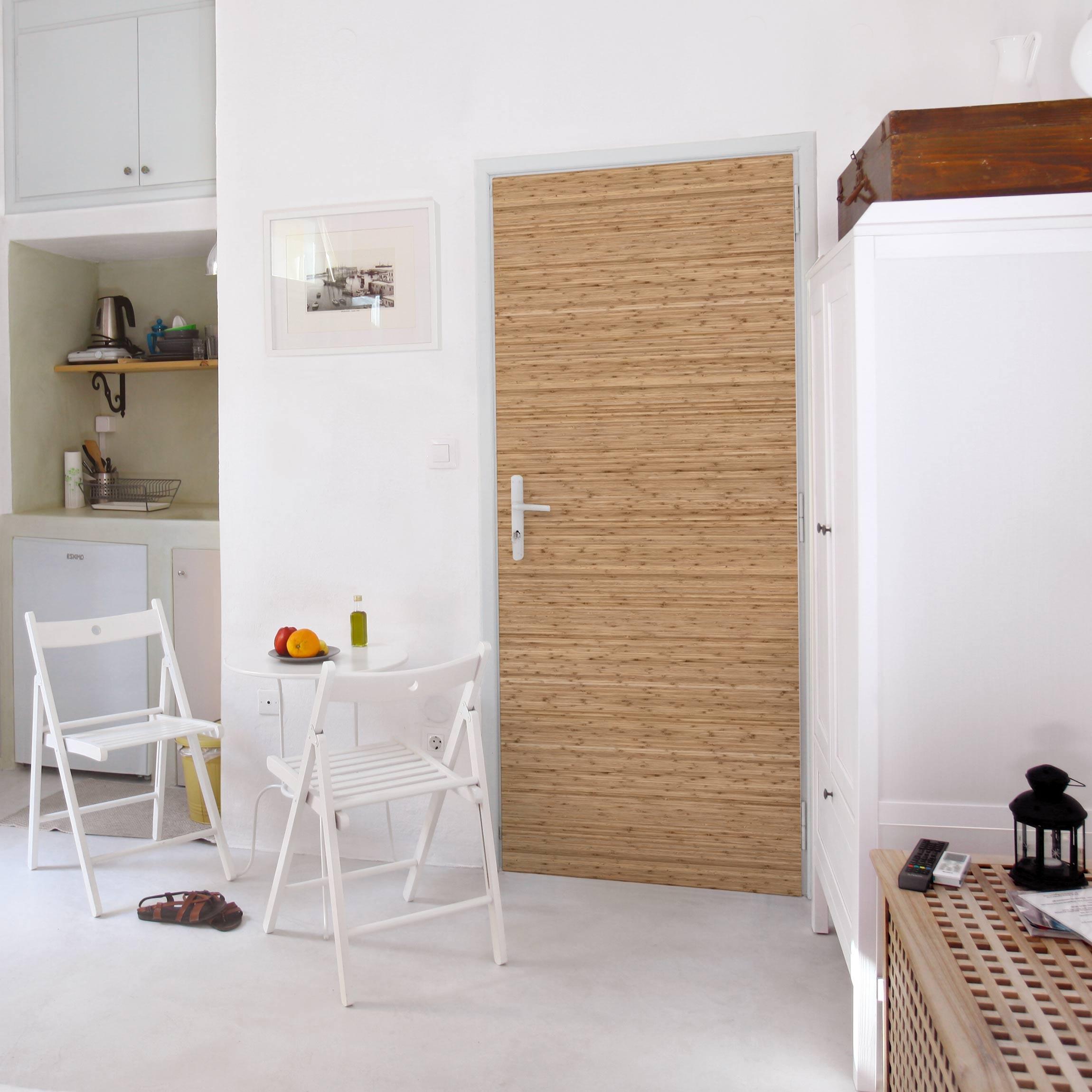 m belfolie bambusfolie folie f r m bel selbstklebend. Black Bedroom Furniture Sets. Home Design Ideas