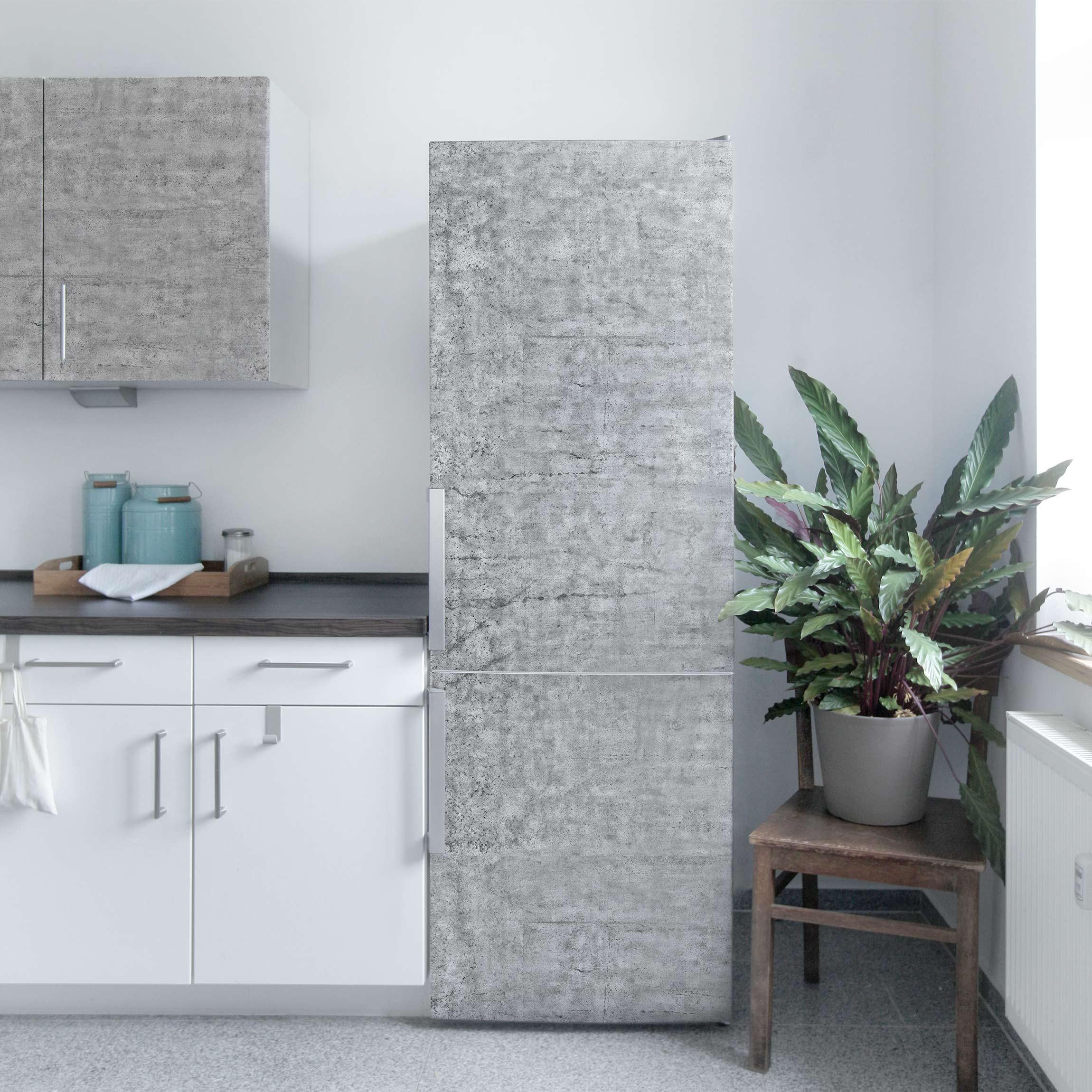 Möbelfolie - Beton Ciré - Klebefolie für Möbel
