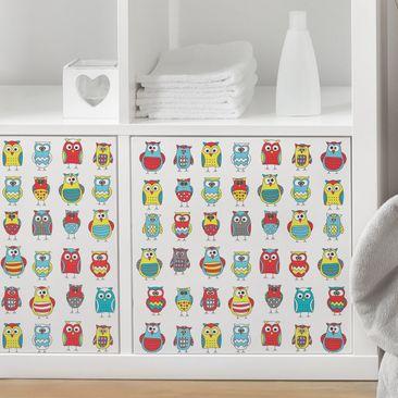 Produktfoto Möbelfolie - Kindermuster mit...