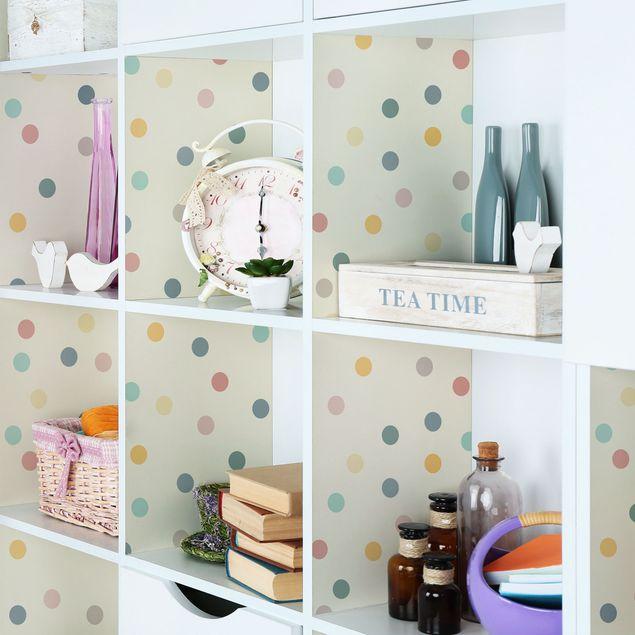 Immagine del prodotto Carta Adesiva per Mobili - Confetti dots pattern
