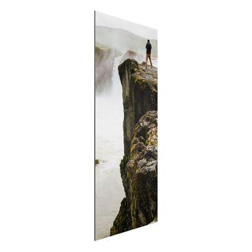 Produktfoto Wunschbild - Ihr Bild als Aluminium Print Wandbild - Panorama Hoch