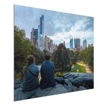 Produktfoto Wunschbild - Ihr Bild als Aluminium Print Wandbild - Quer 3:4