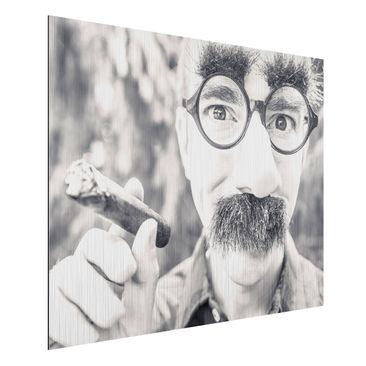Produktfoto Wunschbild - Ihr Bild als Aluminium Print Wandbild gebürstet - Quer 3:4