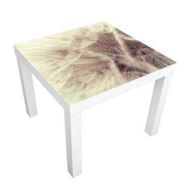 Immagine del prodotto Tavolino design Design Table Detailed dandelions macro shot with vintage blur effect 55x55x45cm 55x55x45cm