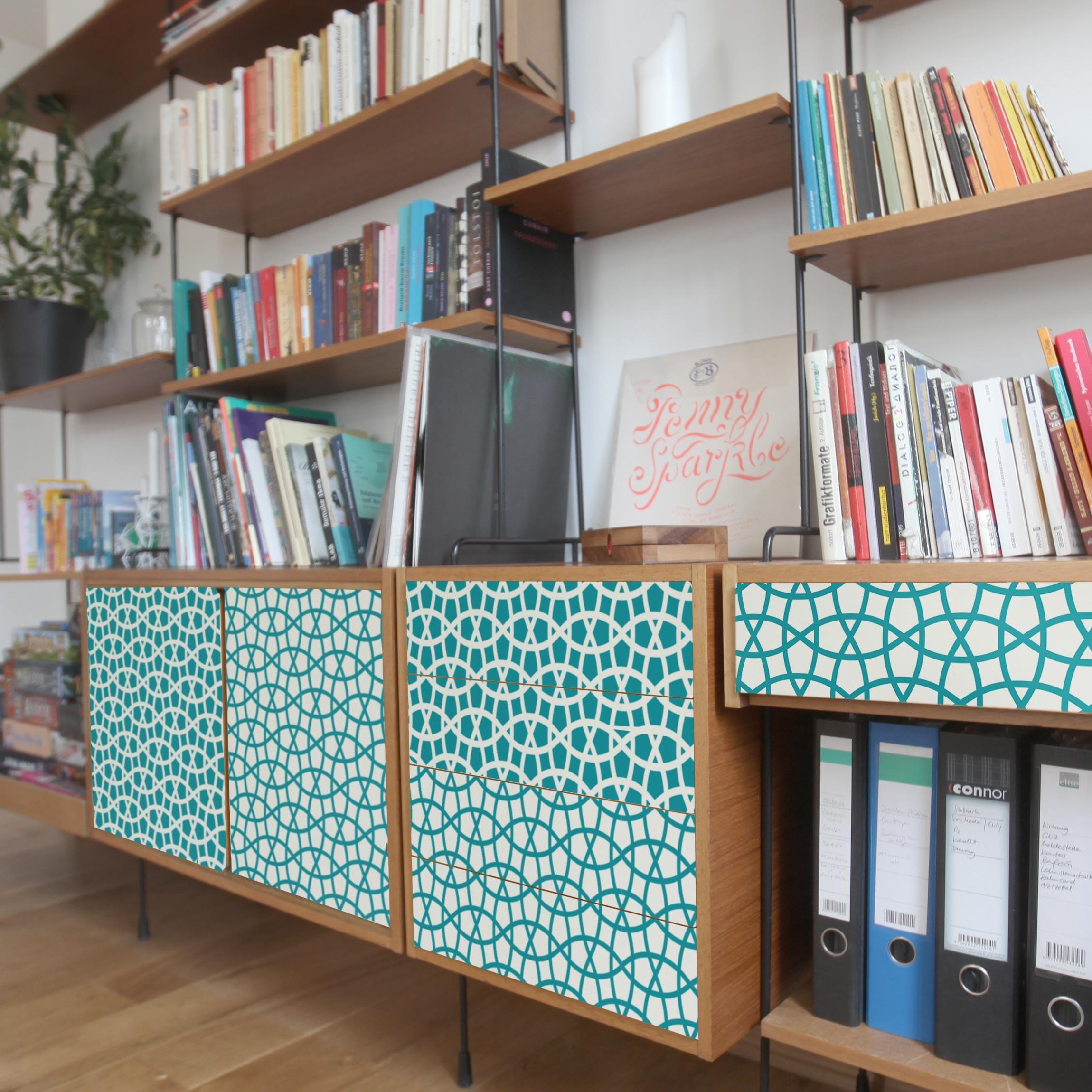 Carta adesiva per mobili 2 moroccan mosaic pattern moroccan chic - Carta per ricoprire mobili ...