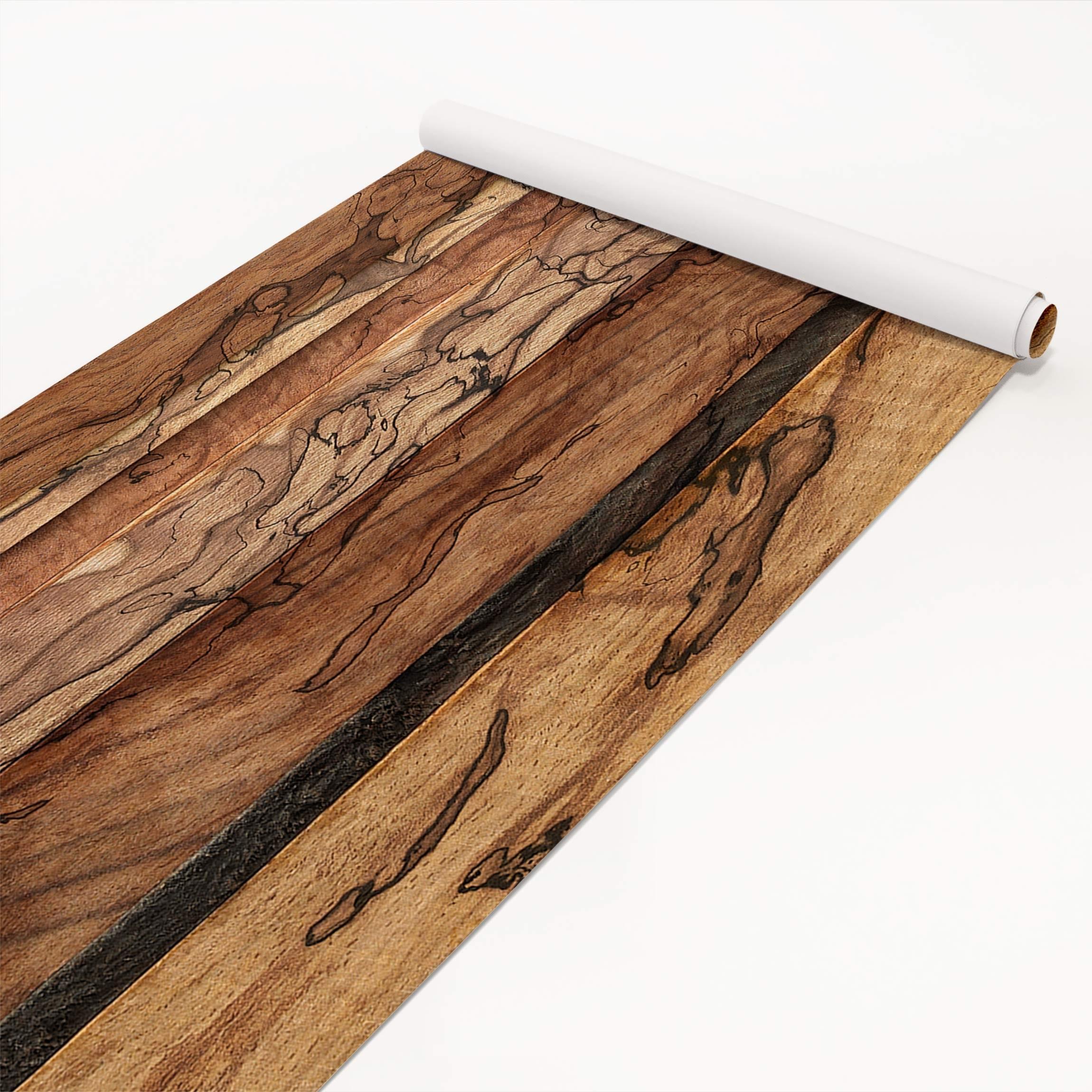 klebefolie holzoptik holzwand flamed dekorfolie holz. Black Bedroom Furniture Sets. Home Design Ideas