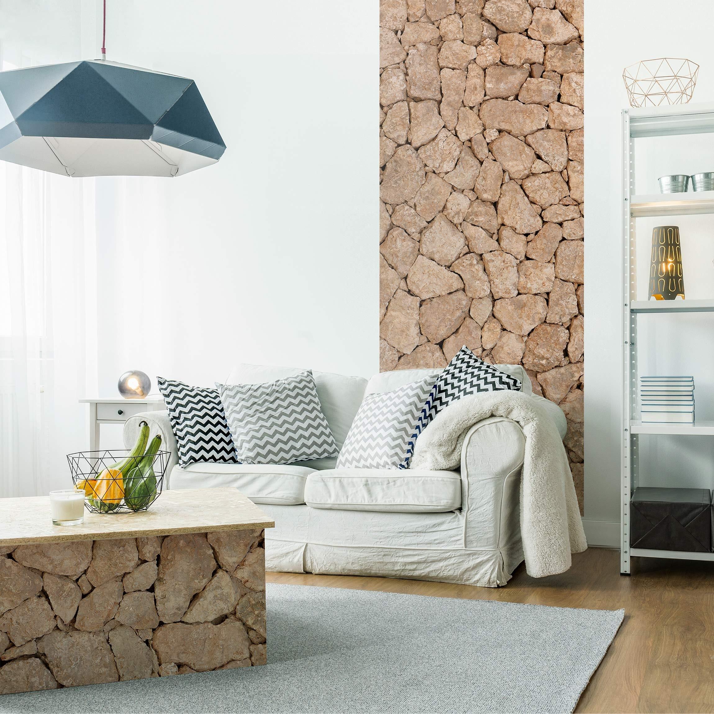Steinfolie apulia stone wall alte steinmauer aus for Klebefolie stein muster