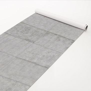 Produktfoto Klebefolie Betonoptik - Beton Ziegeloptik grau - Betonfolie