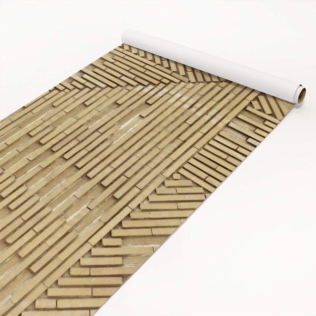 Produktfoto Möbelfolie - Design Klinker natur - Steinfolie für Möbel
