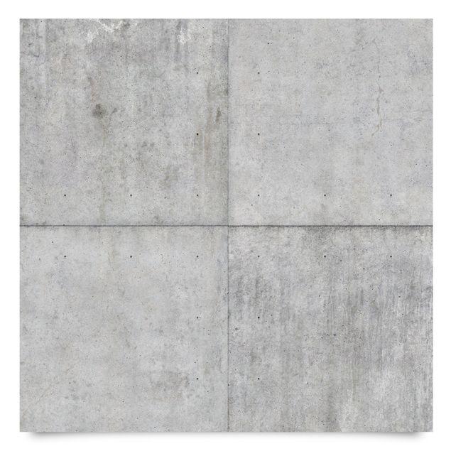 Produktfoto Möbelfolie - Beton Ziegeloptik grau - Steinfolie für Möbel