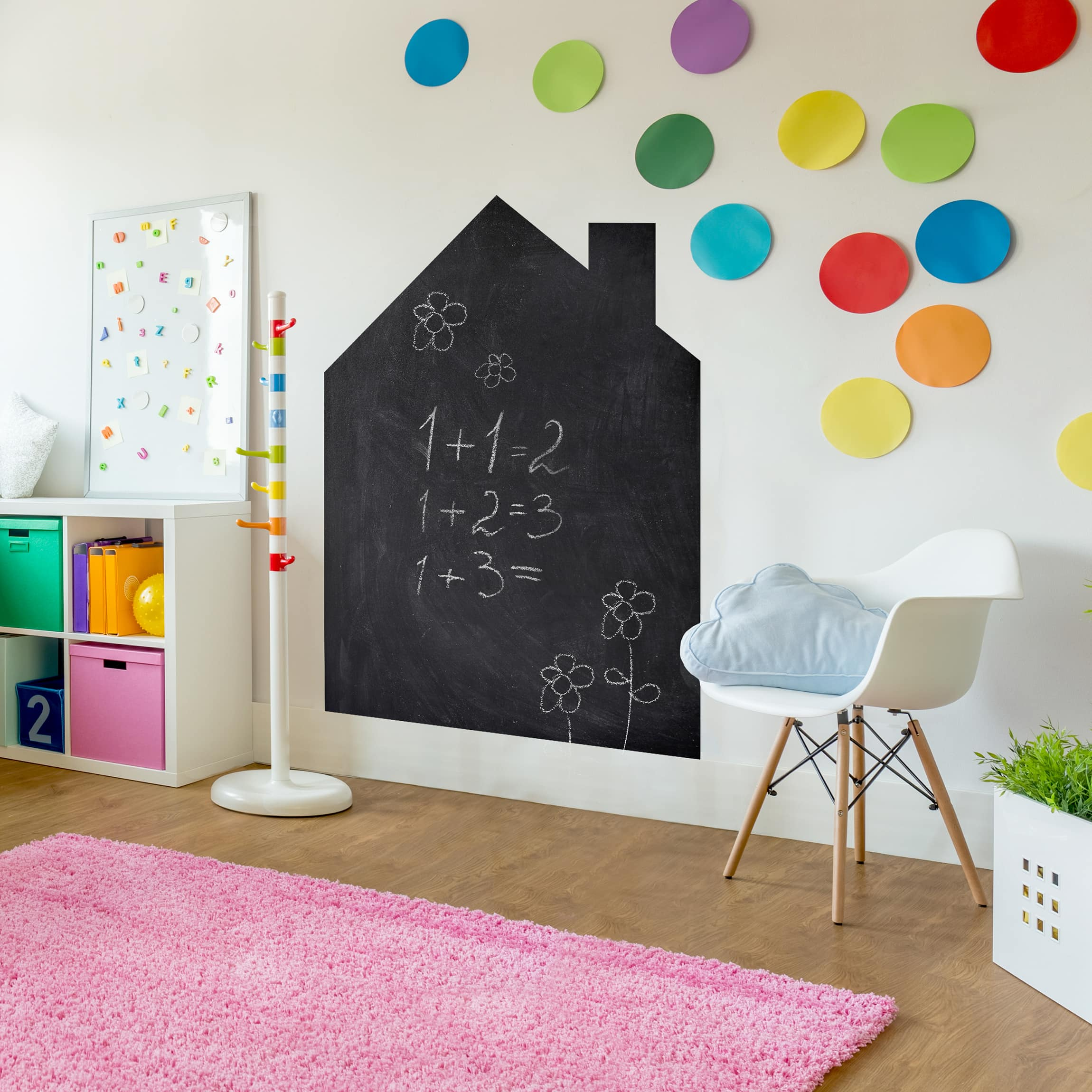 Tafelfolie selbstklebend - Wandttafel Kinderzimmer - DIY Tafel ...