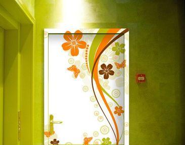 Immagine del prodotto Carta da parati adesiva per porte - October