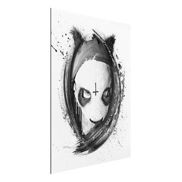 Produktfoto Aluminium Print - Wandbild Cro - Strassenkoeter - Viva con Agua - Hoch 4:3