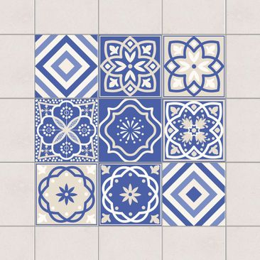 Product picture Tile Sticker Set - Portuguese tiles set...