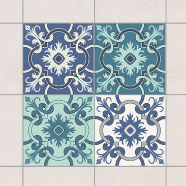 Product Picture Tile Sticker Set   4 Spanish Tiles.
