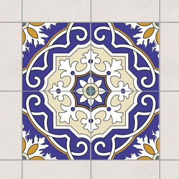 Product picture Tile Sticker Set - Spanish mirror tiles...