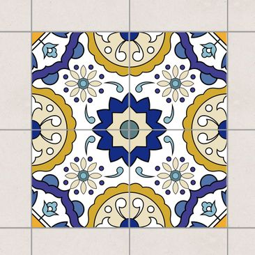 Product picture Tile Sticker Set - Portuguese tile panel...