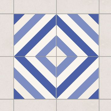 Product picture Tile Sticker Set - Moroccan tiled...