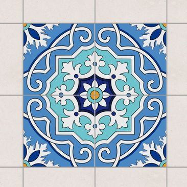 Product picture Tile Sticker Set - Mediterranean tiles...
