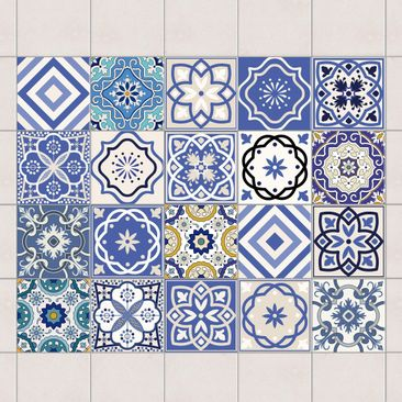 Product Picture Tile Sticker Set 20 Mediterranean
