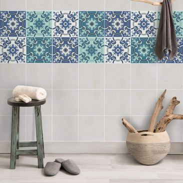 Product picture Tile Sticker Set - 4 Spanish tiles...