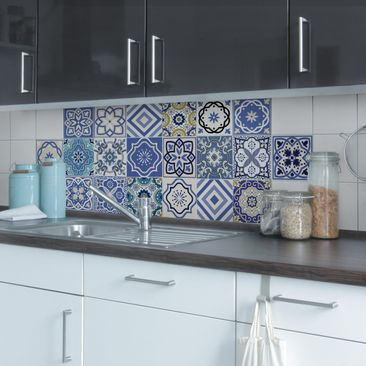 Product picture Tile Sticker Set - 20 Mediterranean...