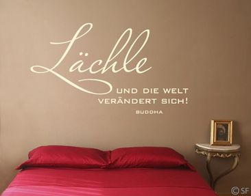 Product picture Wall Decal No.SF985 Smile