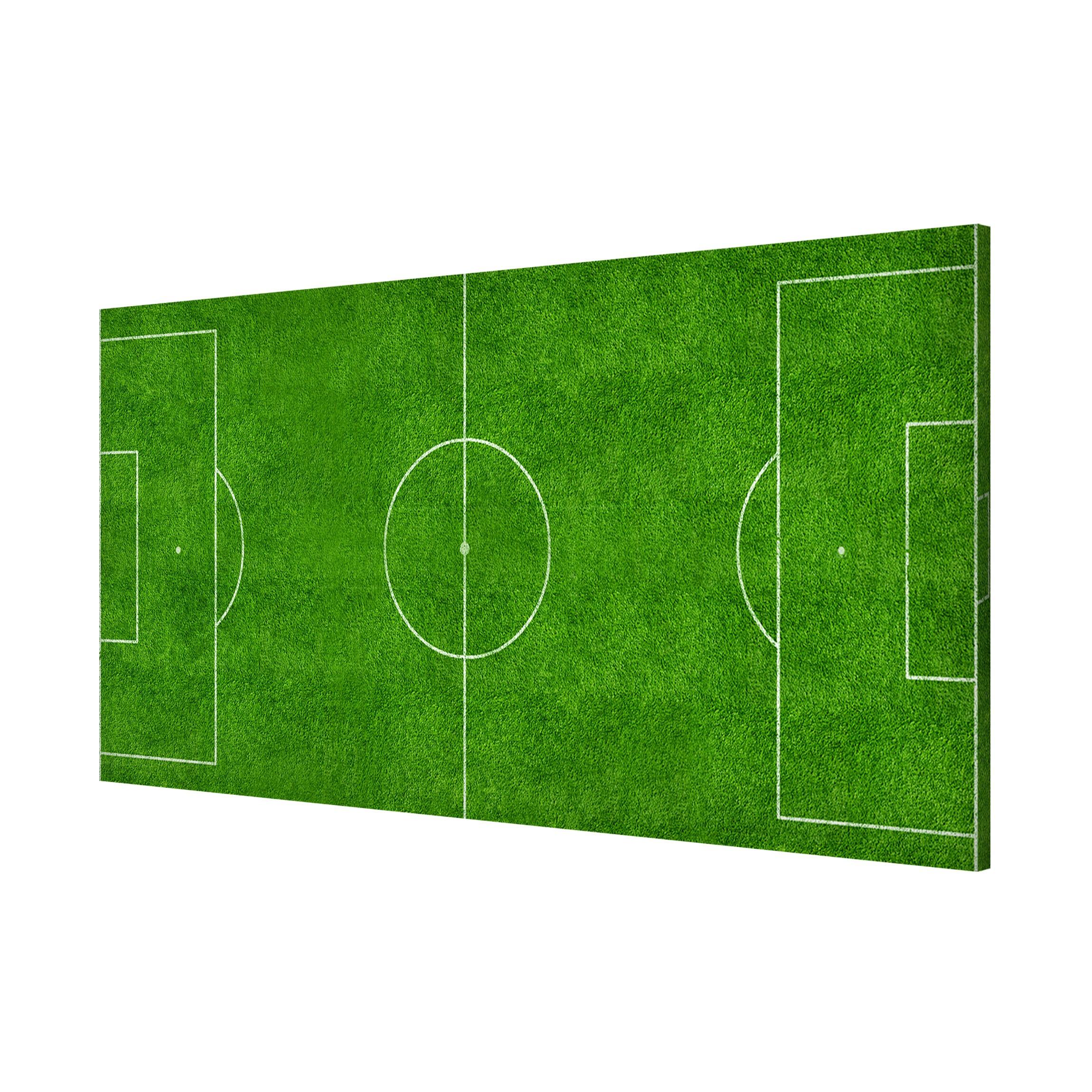 Kids Childrens Football Field 100 X 133cm: Panorama Landscape Format