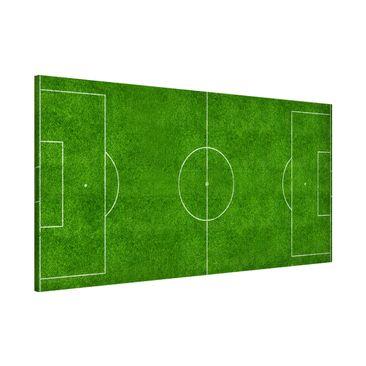 Produktfoto Magnettafel - Fußballfeld - Memoboard...
