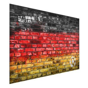 Produktfoto Aluminium Print gebürstet - Wandbild Germany Stonewall - Quer 2:3