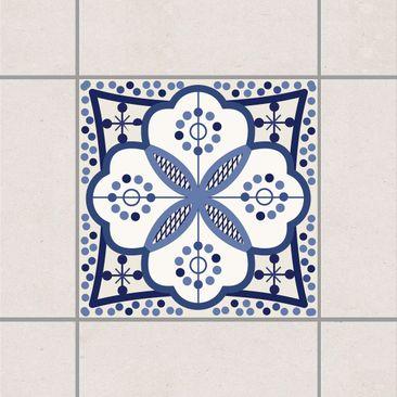 Immagine del prodotto Adesivo per piastrelle - Mediterranean tile ornament 15cm x 15cm