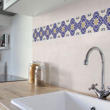 Product picture Tile Border - Spanish tile ornament 10cm...