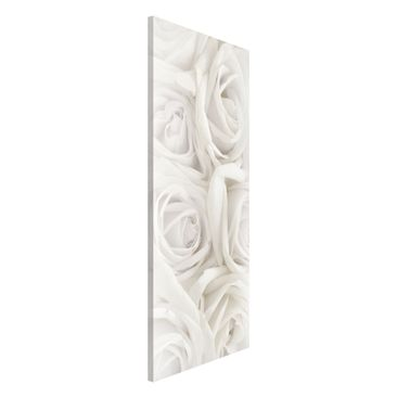 Product picture Magnetic Board - Rose White Roses -...