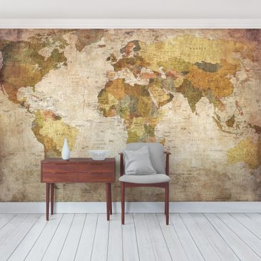Product picture Photo Wall Mural Worldmap