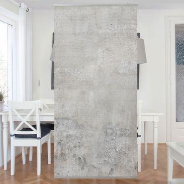 Produktfoto Raumteiler - Shabby Betonoptik 250x120cm