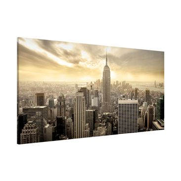 Product picture Magnetic Board - Manhattan Dawn -...