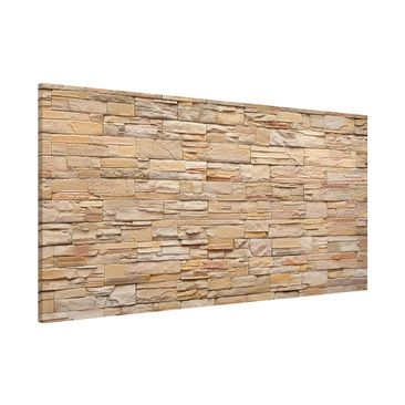 Immagine del prodotto Lavagna magnetica - Asian Stonewall Large Bright Stone Wall From Homely Stones - Panorama formato orizzontale