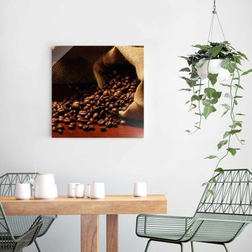 Product picture Print on Glass - Dulcet Coffee - Glass...