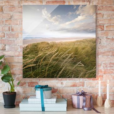 Produktfoto Print on Glass - Dunes dream - Glass...