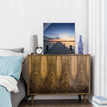 Product picture Print on Glass - Place of rest - Glass...