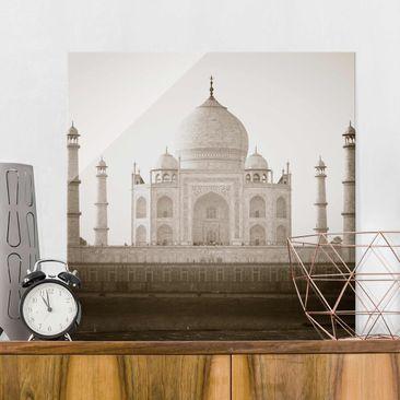 Produktfoto Glasbild - Taj Mahal - Quadrat 1:1