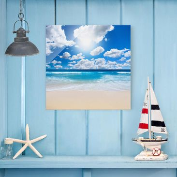 Product picture Print on Glass - Touch of paradise -...