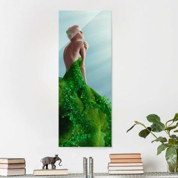 Produktfoto Glasbild - Mother Nature - Panorama Hoch